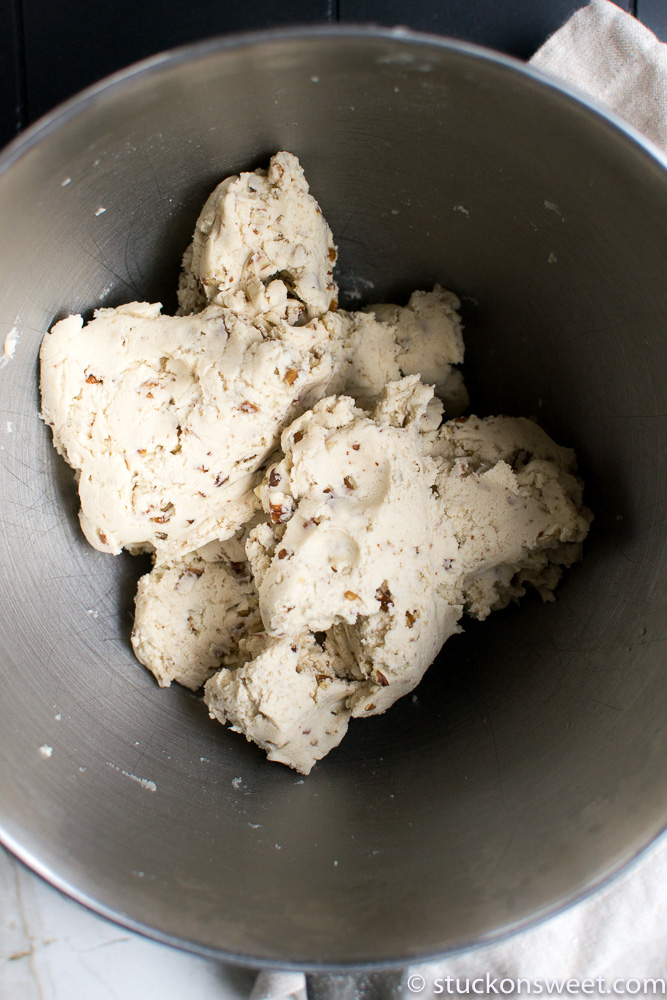 snowball cookie dough