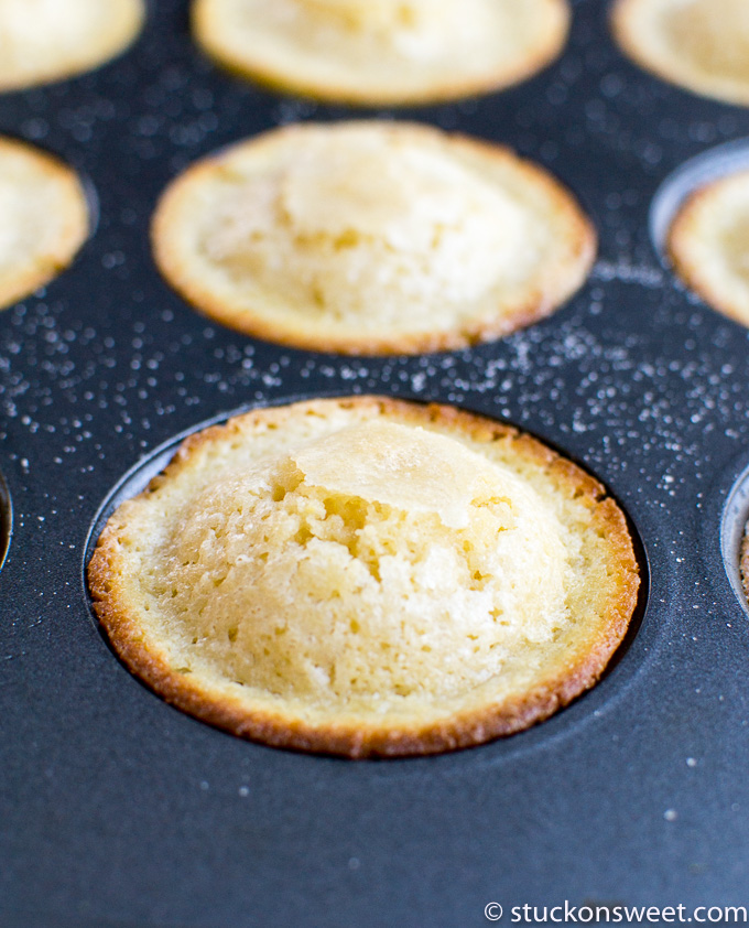 buttermilk muffin with crunchy sugar topping