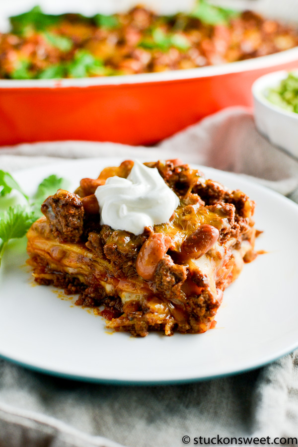 mexican lasagna - easy dinner recipe