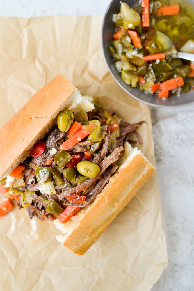 Delicious Italian Beef Sandwiches
