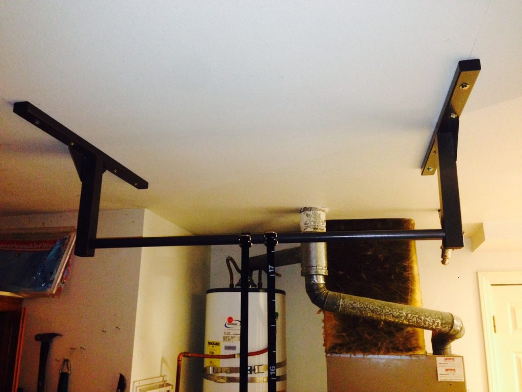 What S Better Ceiling Or Wall Mounting My Pull Up Bar