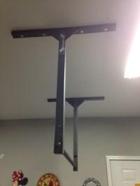 Extra Large Long adjustable Pull Up Bar - Stud Bar ...