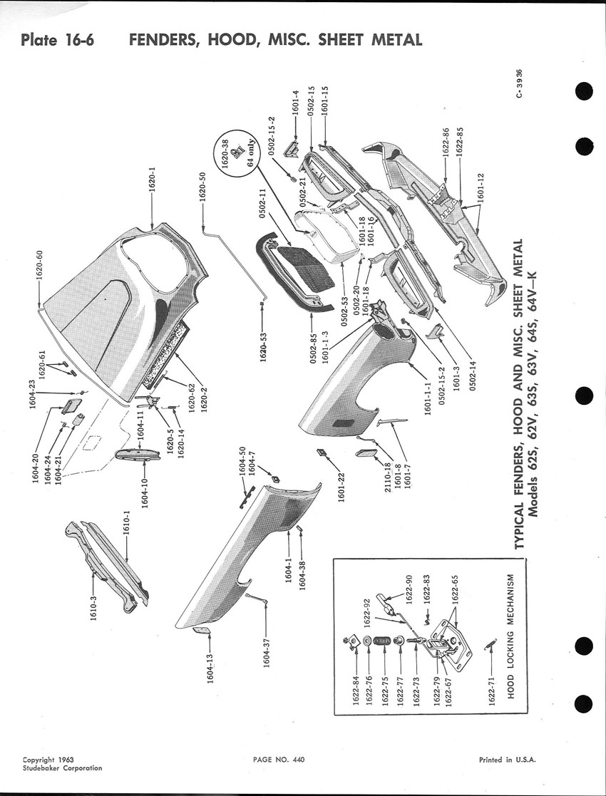 Body: 60 Hawk rear fender HELP