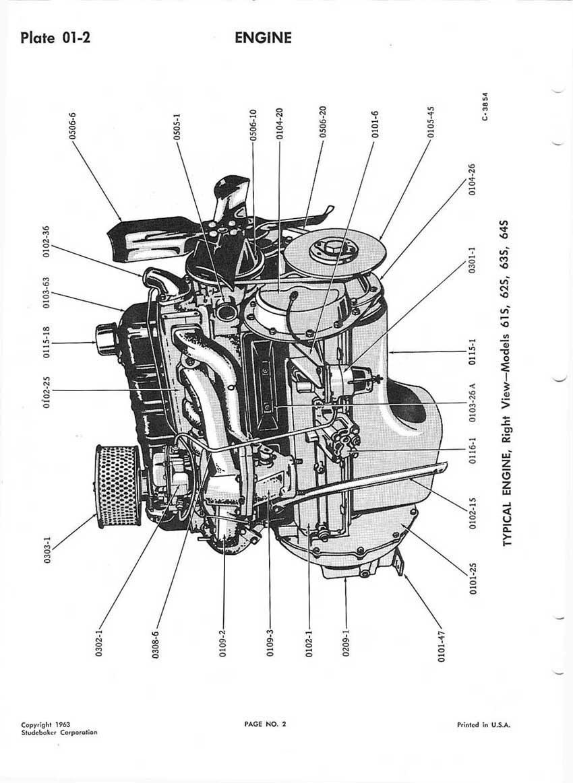 hight resolution of bob johnstones studebaker resource website studebaker chassis manual 1959 1964 engine