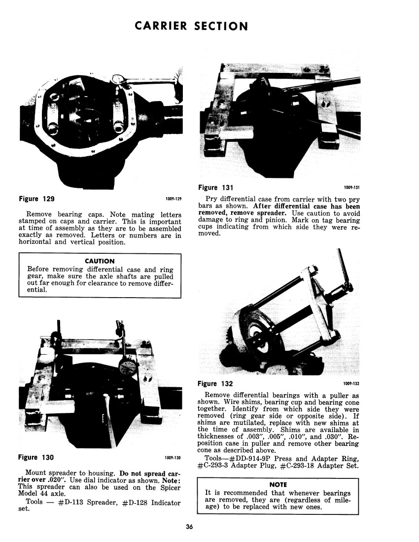 Bob Johnstones Studebaker Resource Website (Dana 44 Shop