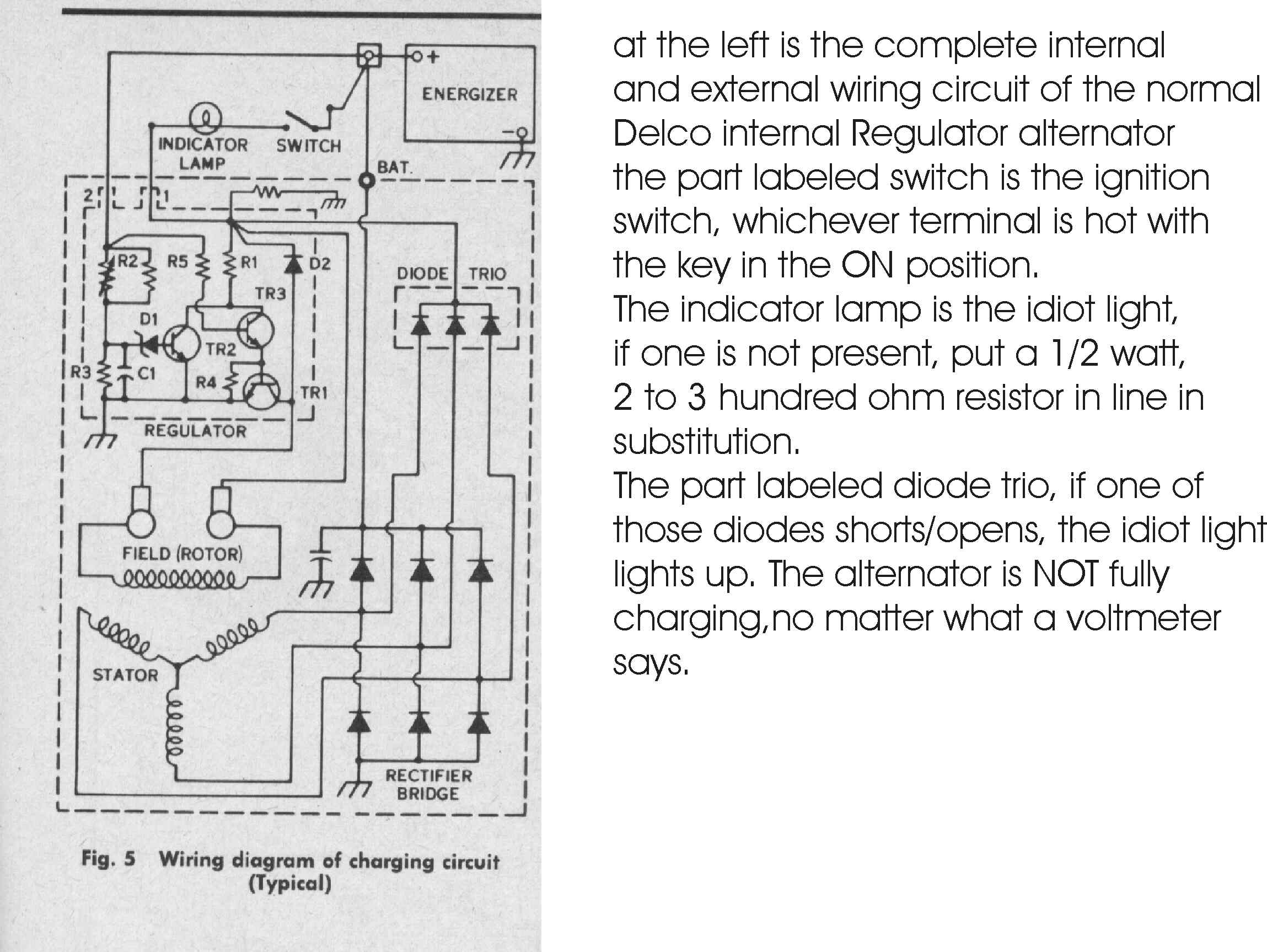 An Schematic From A Light Wiring Diagram Bob Johnstone S Studebaker And Avanti Page