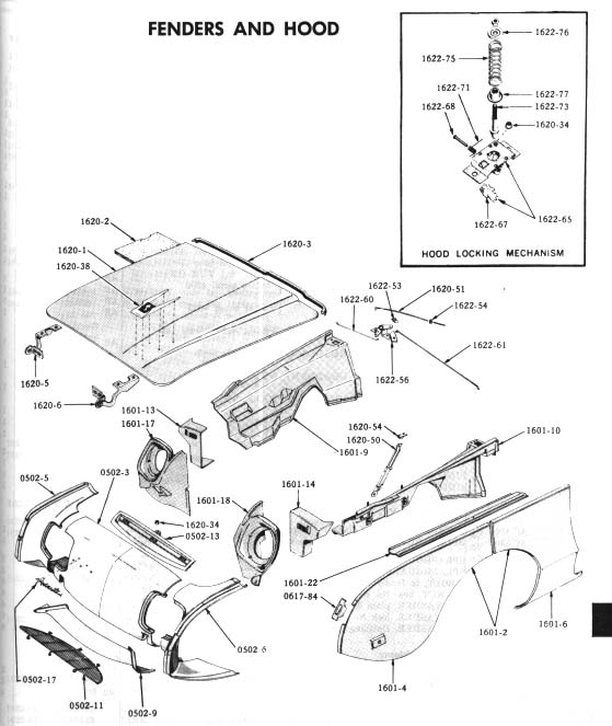 Studebaker Hawk Suspension Diagram, Studebaker, Free