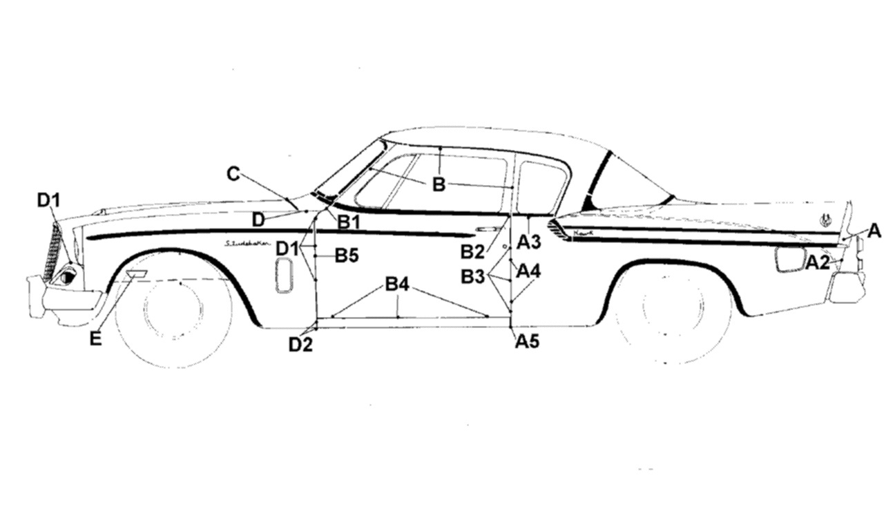 1962 Studebaker Wiring Diagrams FULL HD Quality Version