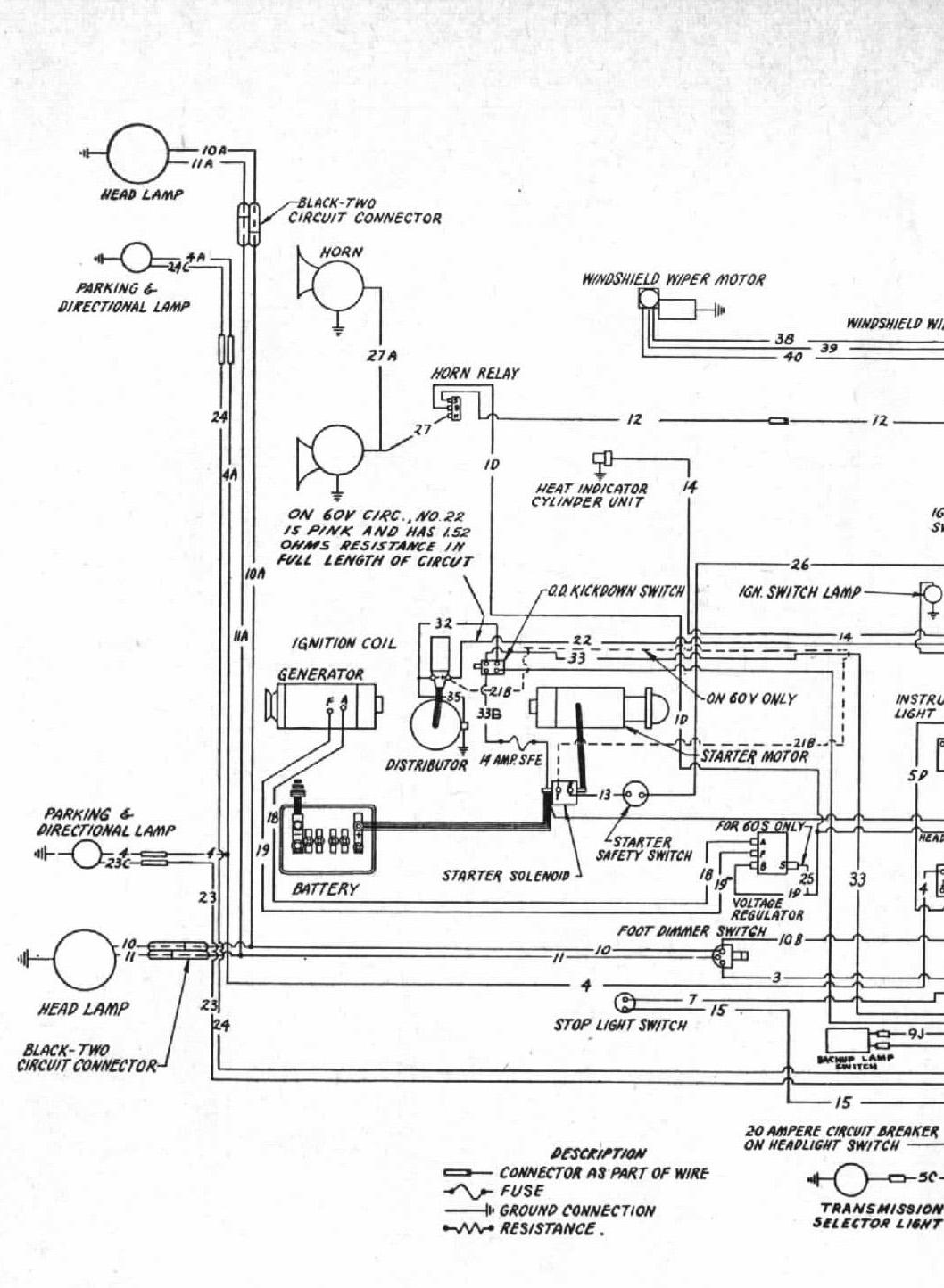 studebaker wiring harness