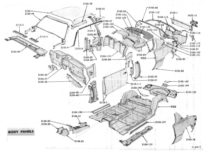 Studebaker Avanti Exhaust System Sketch Coloring Page