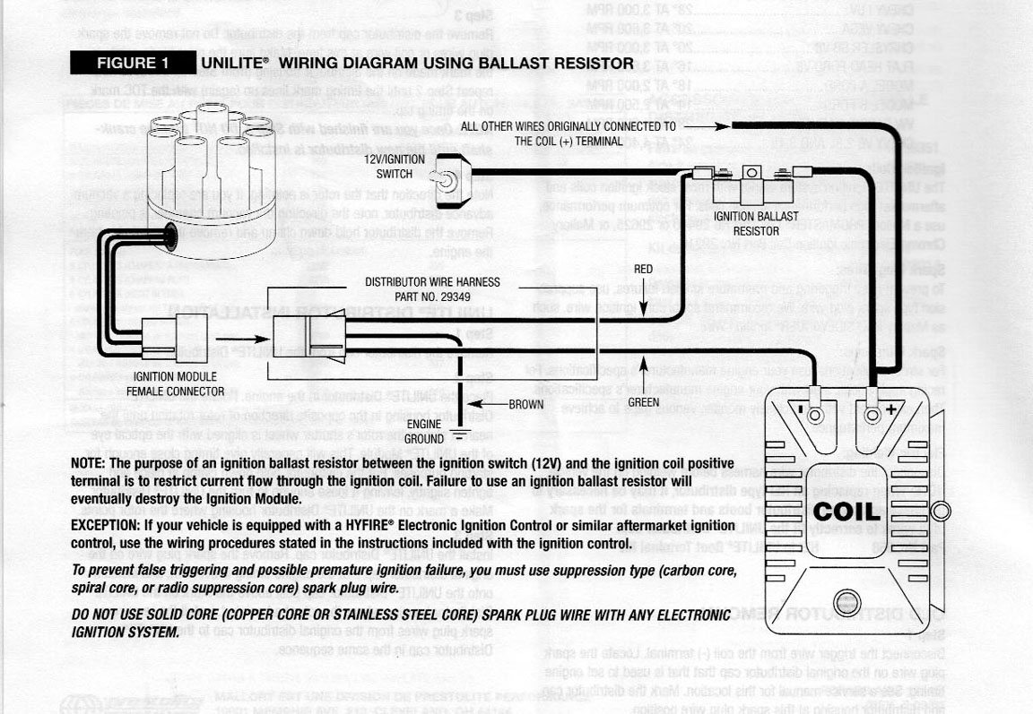 mallory unilite wiring diagram how to make a plot bob johnstones studebaker resource website