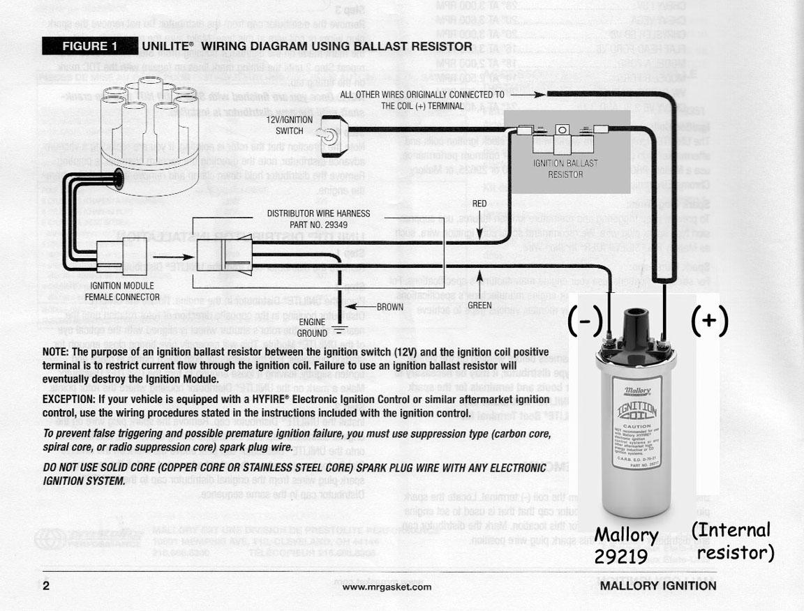 mallory unilite wiring diagram venn for real number system bob johnstones studebaker resource website (mallory distributor - )