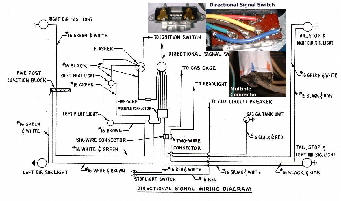 hight resolution of 2 prong turn signal flasher wiring schematic