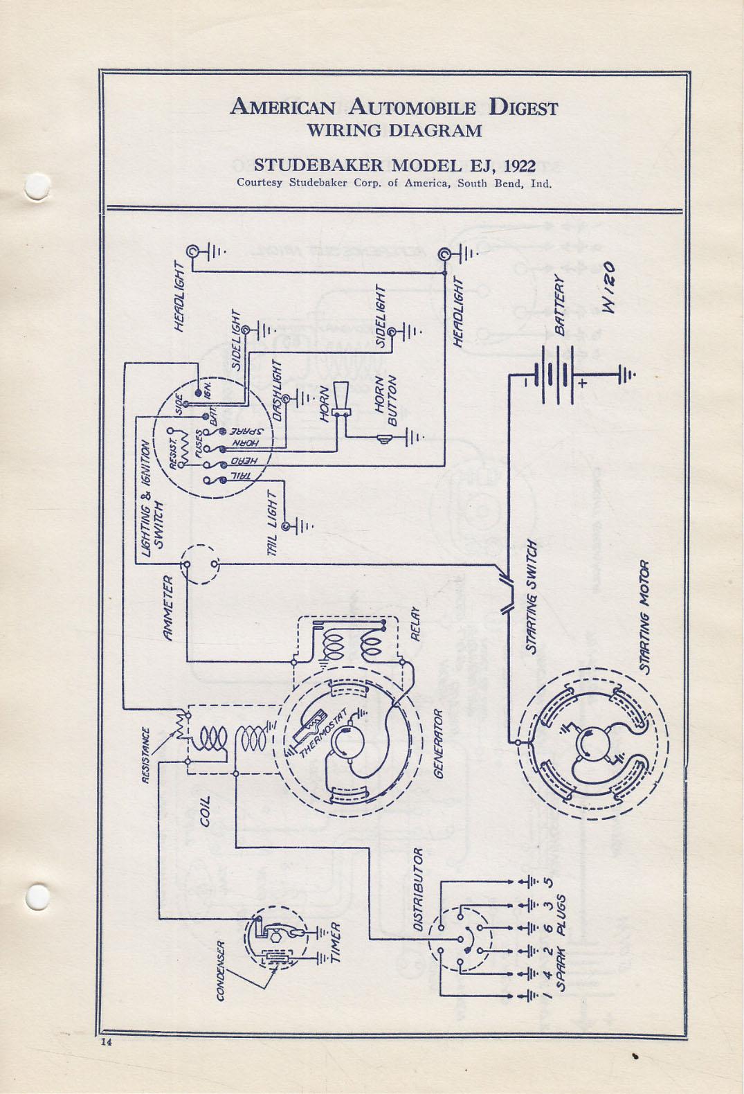 hight resolution of  bob johnstones studebaker resource website 1922 studebaker wiring on studebaker parts studebaker wiring harness