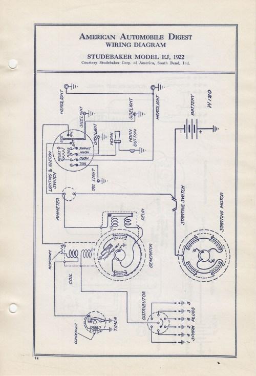 small resolution of  bob johnstones studebaker resource website 1922 studebaker wiring on studebaker parts studebaker wiring harness