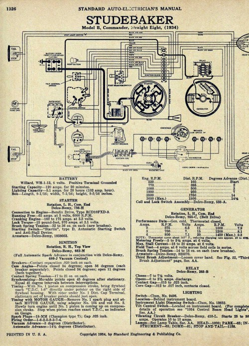 small resolution of bob johnstones studebaker resource website old 1953 studebaker commander wiring diagram 1950 studebaker champion turn