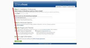 Installing Blog Software