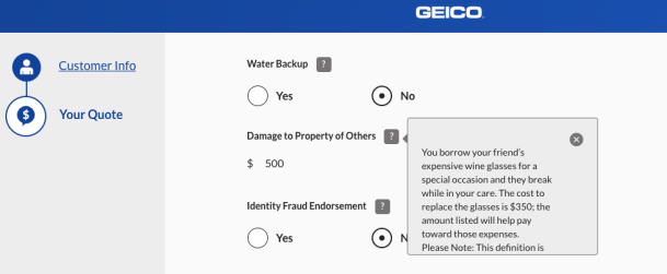 Geico Renters Insurance Quotes
