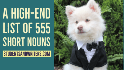 Read more about the article A High-End List of 555 Short Nouns