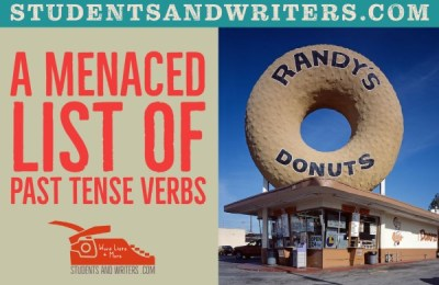Read more about the article A Menaced List of Past Tense Verbs