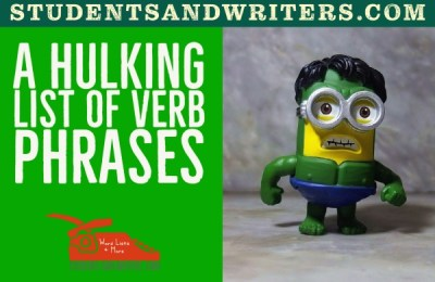 Read more about the article A hulking list of verb phrases