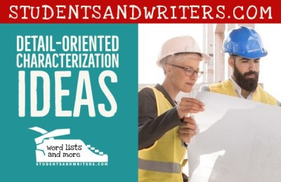 Read more about the article Detail-Oriented Characterization Ideas