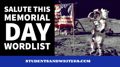 Read more about the article Salute this Memorial Day wordlist