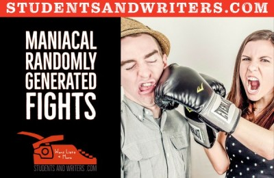 Read more about the article Maniacal randomly generated fights