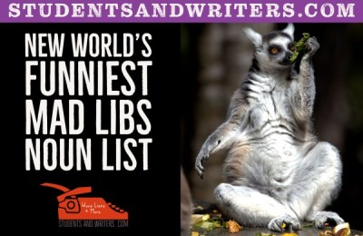 Read more about the article New World's Funniest Mad Libs Noun List