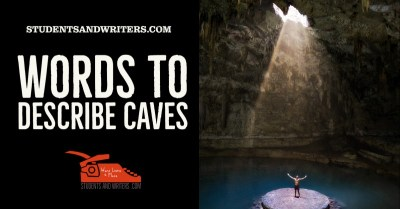 Words to describe tunnels and caves