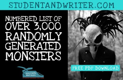 Read more about the article A Dangerous List of Randomly Generated Monster with Bonus Download