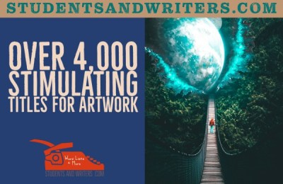 Read more about the article Over 4,000 Stimulating Titles for Artwork