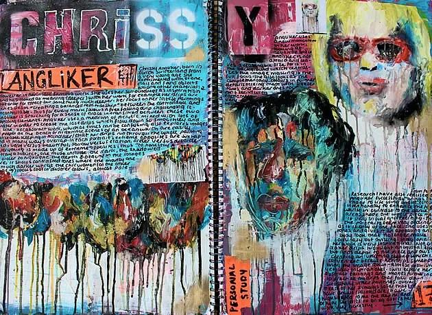 Chrissy Angliker artist study