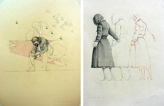 Federico Infante drawings