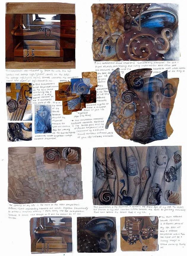 A IGCSE Art Coursework Trinkets Treasures And Memories