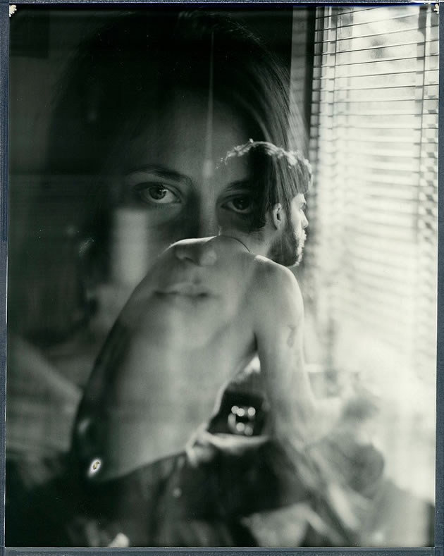superimposed photographs
