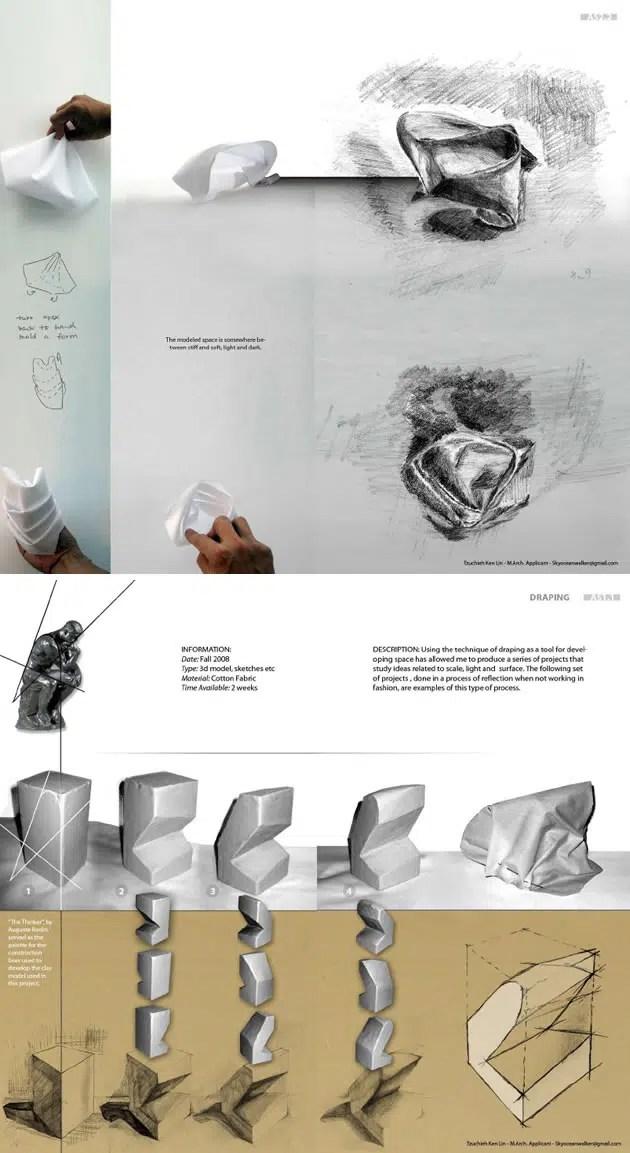 architecture school portfolio