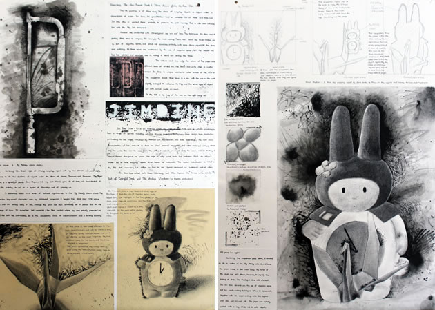 A IGCSE Art And Design Still Life And Paper Cranes
