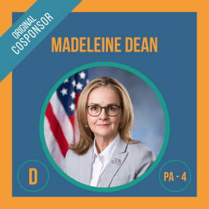 Representative Madeleine Dean, Cosponsor of the Student Borrower Bankruptcy Relief Act
