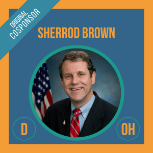 Senator Sherrod Brown, Cosponsor of the Student Borrower Bankruptcy Relief Act
