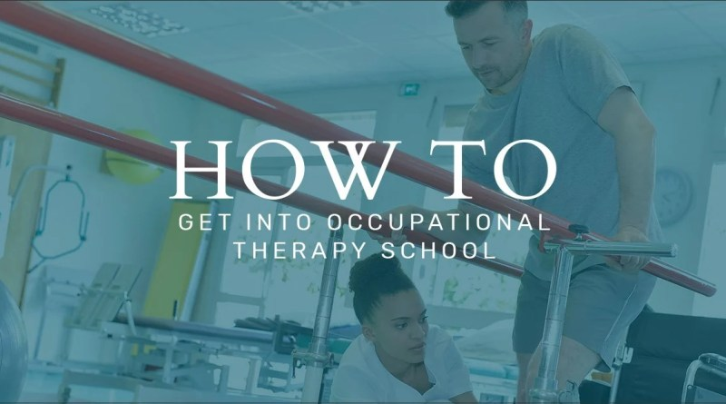 How To Get Into Occupational Therapy School An Admissions Guide