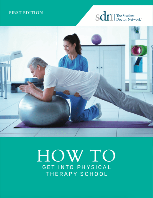 get into physical therapy school