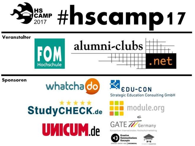 Sponsoren Hochschulbarcamp 2017