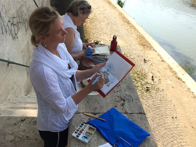 rome-art-program-kelly-medford-painting-lessons-with-kelly-medford