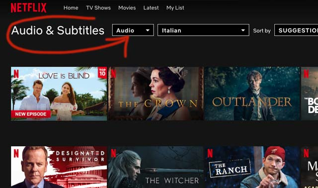 Netflix-Italian-movies-dramas-audio-subtitles
