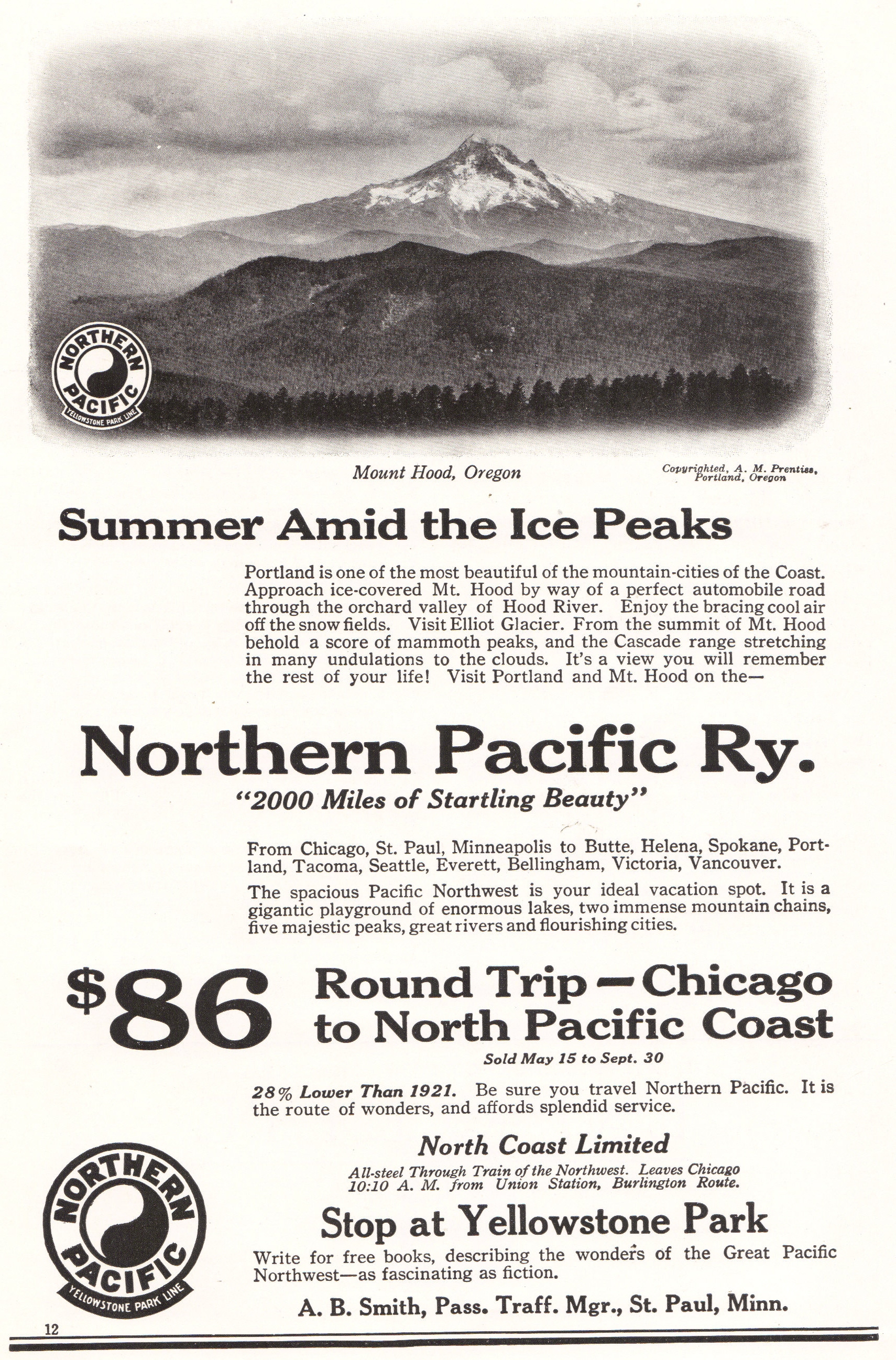 Northern Pacific Yellowstone Park Line