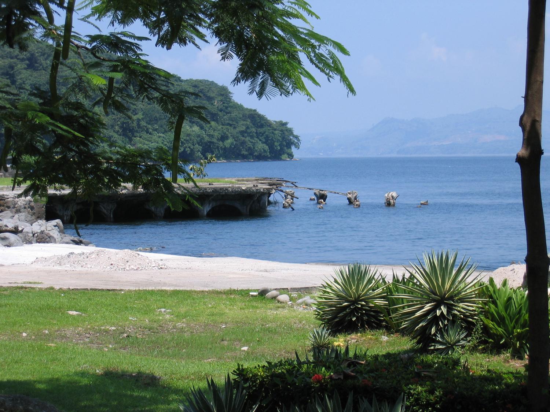 Crumbling Beach Pier Philippine Islands