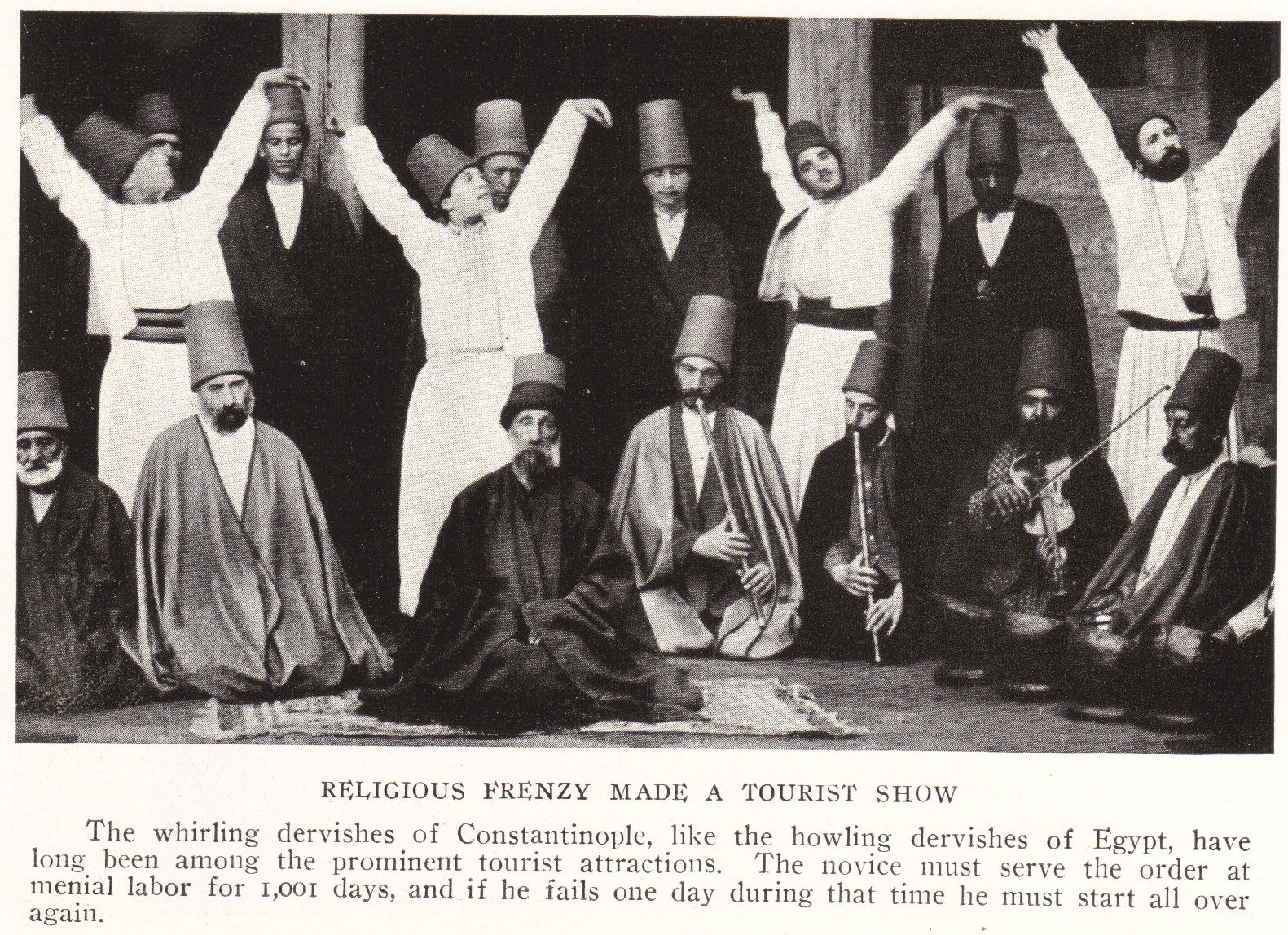 Whirling Dervishes Of Turkey