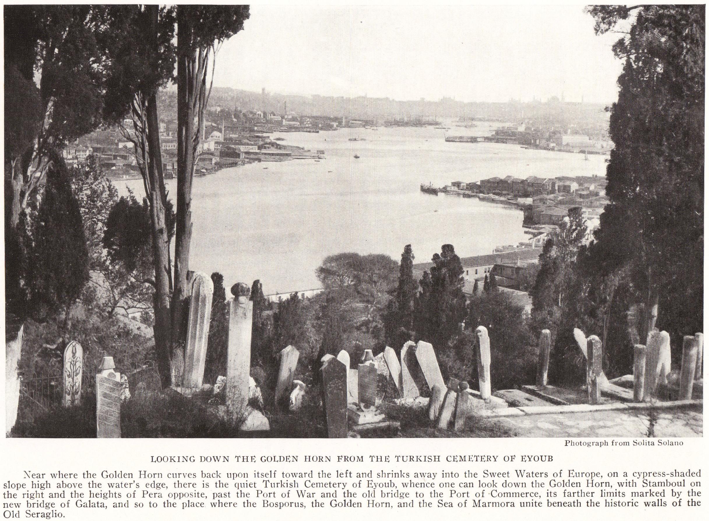 Eyoub Muslim Cemetery Turkey