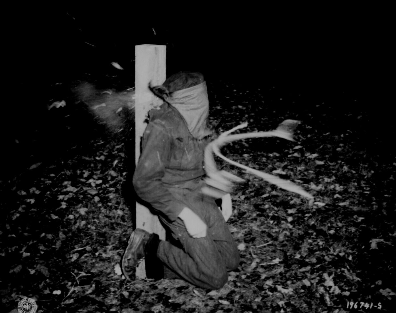 Killing Of A Nazi Collaborator Wwii